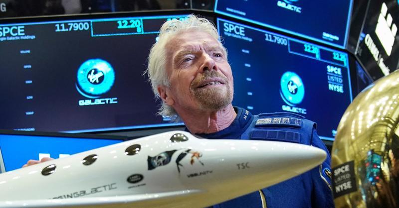 Tỷ phú Richard Branson - Ảnh: Virgin Galactic