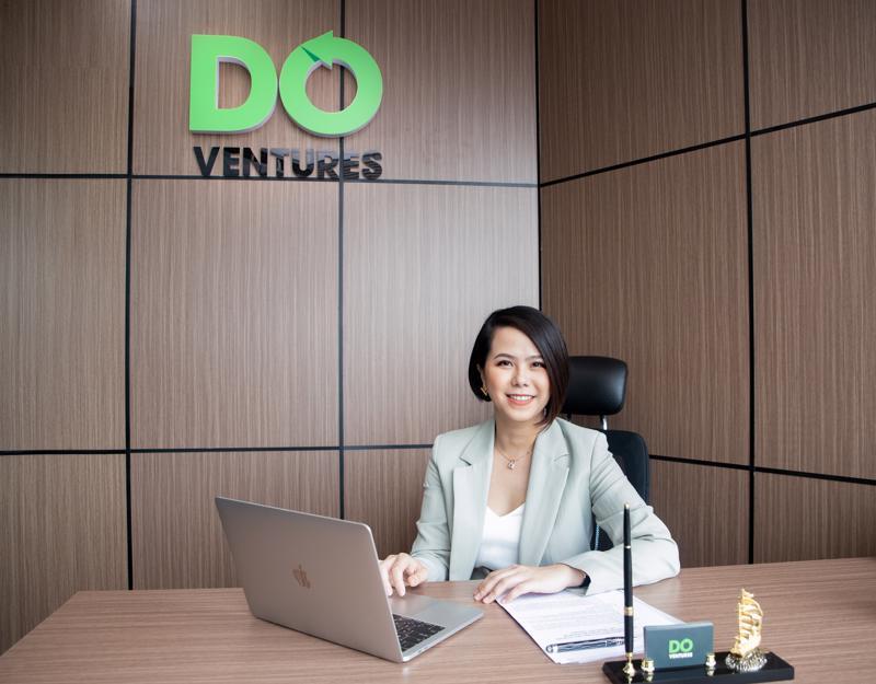 Bà Lê Hoàng Uyên Vy, Giám đốc điều hành quỹ đầu tư mạo hiểm Do Ventures.
