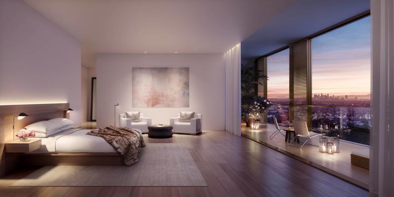 Căn hộ hàng hiệu The Residences at The West Hollywood EDITION. Ảnh: Icon Private Residences.
