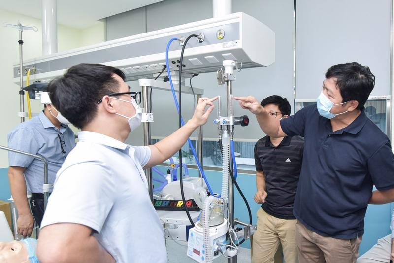 Thử nghiệm máy oxy dòng cao BKVM-HF1.