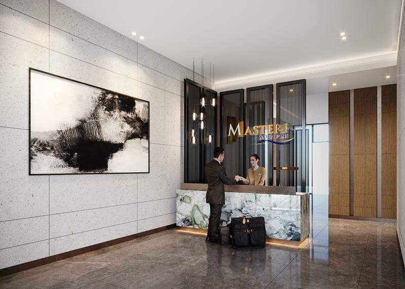 Khu căn hộ cao cấp Masteri Waterfront được thiết kế, vận hành theo những tiêu chuẩn quốc tế khắt khe.