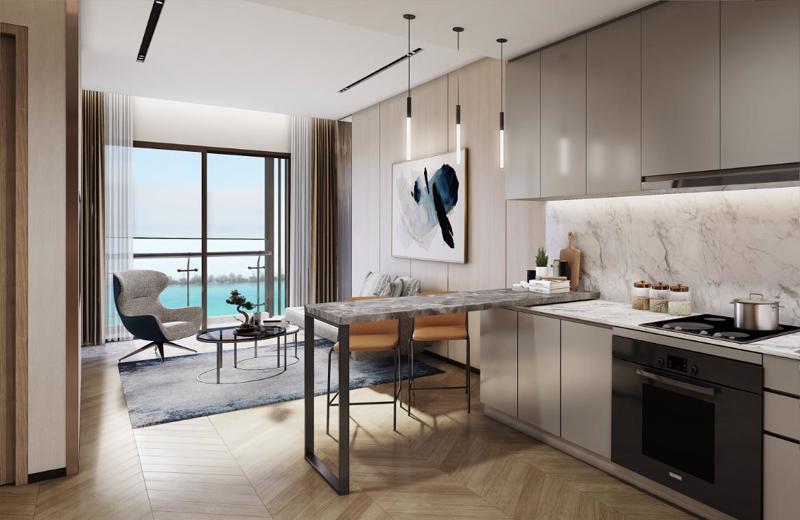 Nhà mẫu dự án Masteri Waterfront (Gia Lâm, Hà Nội) - một trong ba dự án áp dụng giải pháp Home for Home.