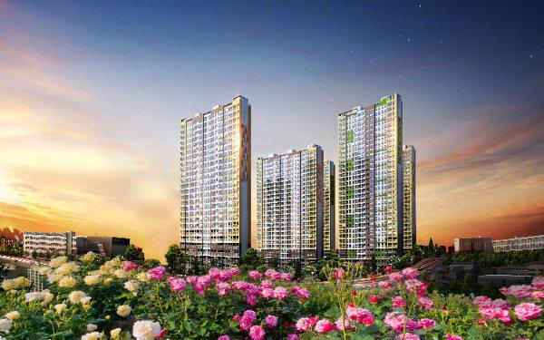Phối cảnh dự án Rose Garden. Một trong những dự án mà Thiên Nam Group sẽ đầu tư phát triển.