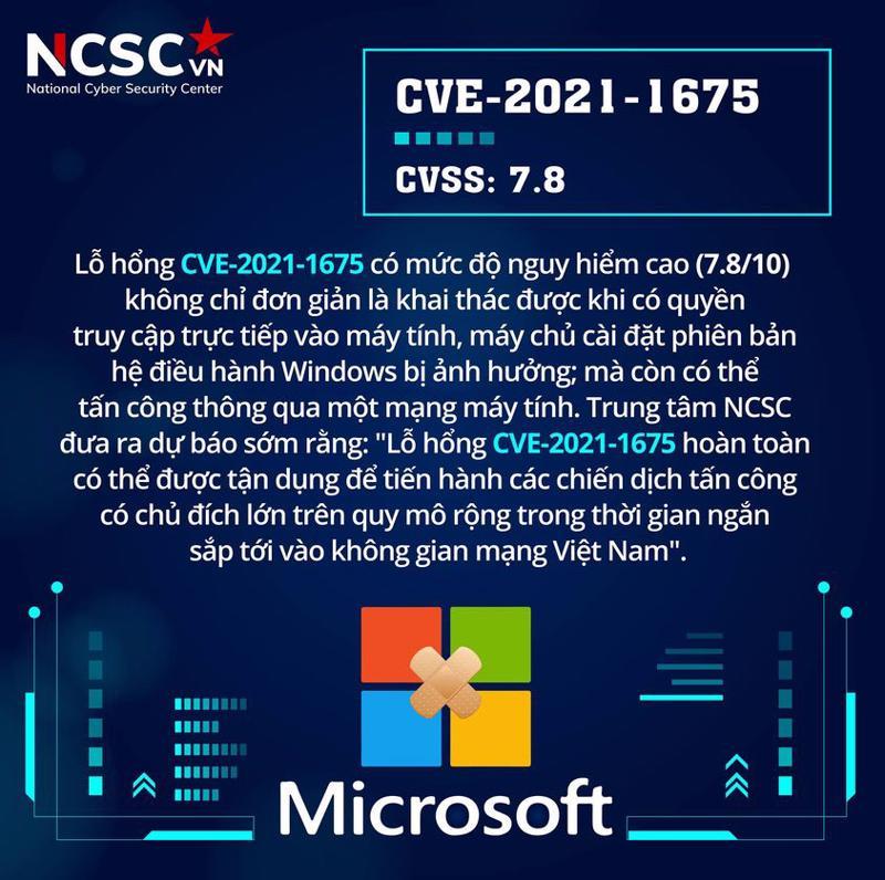 NCSC dự báo sớm lỗ hổng bảo mật trên Windows có thể bị lợi dụng để tấn công APT diện rộng.
