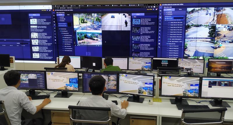 Ứng dụng công nghệ trong quản lý, giám sát, điều hành thông minh