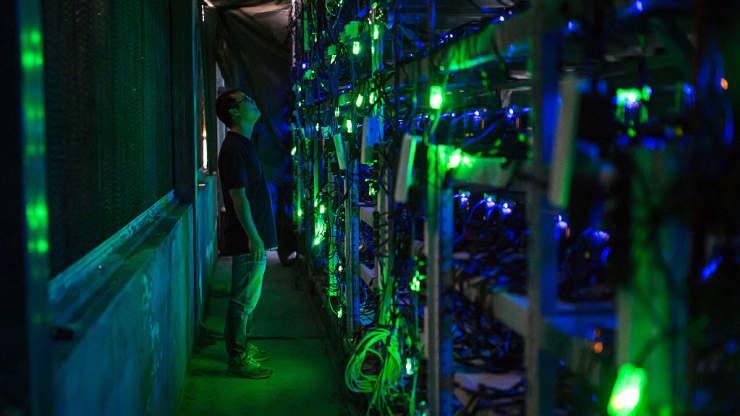Một mỏ đào Bitcoin ở Tứ Xuyên, Trung Quốc hồi năm 2016 - Ảnh: Getty/CNBC.
