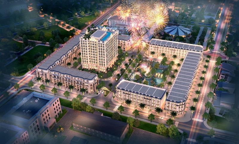 D'. Metropole Hà Tĩnh tọa lạc tại vị trí trung tâm khu đô thị lõi thành phố Hà Tĩnh.