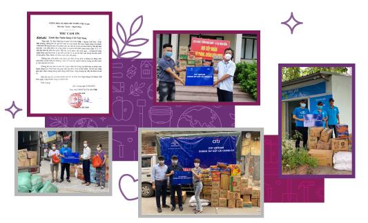 Tại cả Hà Nội và Tp.HCM, các nhân viên Citi đã tham gia những hoạt động để tạo ra tác động tích cực cho cộng đồng.