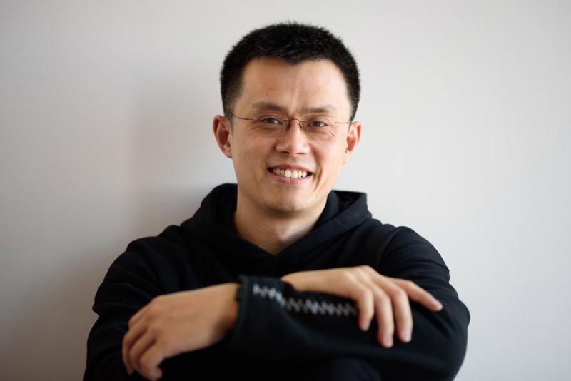 Changpeng Zhao, nhà sáng lập sàn tiền ảo Binance, là một cư dân của Singapore - Ảnh: Bloomberg.