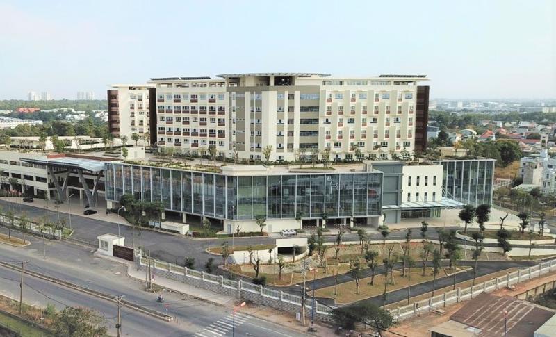 Bệnh viện Ung bướu cơ sở 2 (Quận 9, thành phố Thủ Đức) sẽ thành Trung tâm hồi sức Covid-19.