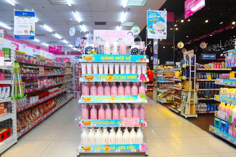 Bộ sản phẩm Besense do siêu thị hàng Nhật nội địa Sakuko phân phối.