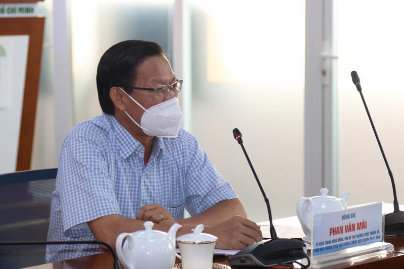 Phó bí thư Thường trực Thành ủy TP.HCM Phan Văn Mãi đưa ra 3 tình huống tình hình dịch sau 15 ngày giãn cách.