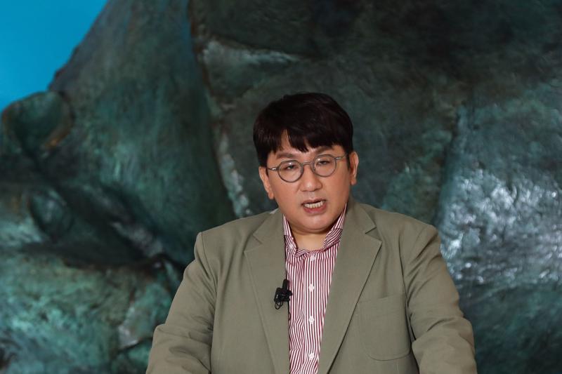 Tỷ phú Hàn Quốc Bang Si-hyuk - Ảnh: Bloomberg.