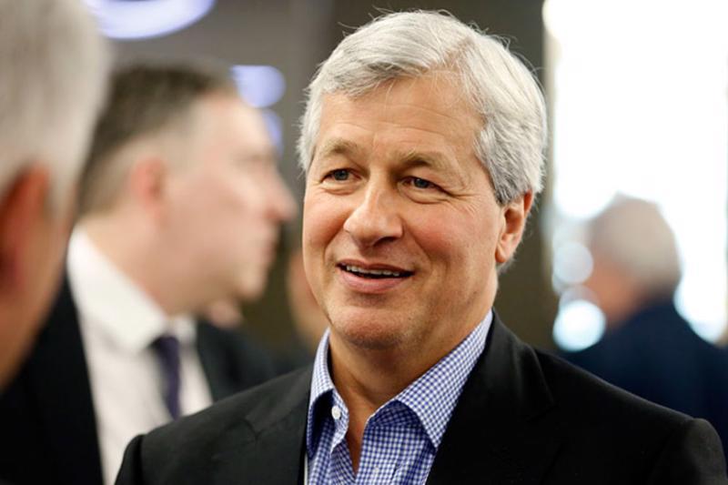 CEO Jamie Dimon của JPMorgan Chase - Ảnh: Bloomberg.