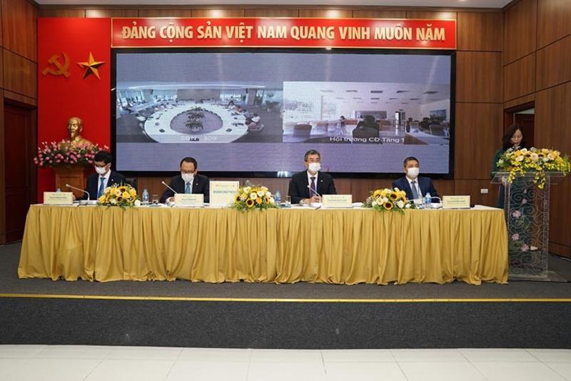 Đại hội cổ đông thường niên của Vietnam Airlines năm 2021.