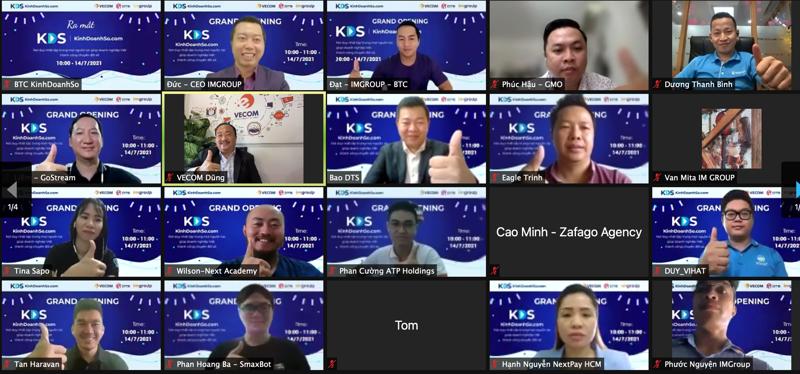 KinhDoanhSo hỗ trợ cho doanh nghiệp chuyển đổi số, phát triển trên nền tảng số.