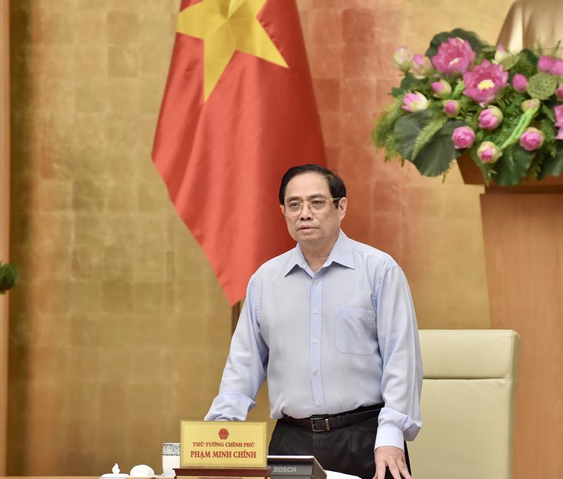 Thủ tướng Phạm Minh Chính phát biểu khai mạc Hội nghị - Ảnh: VGP