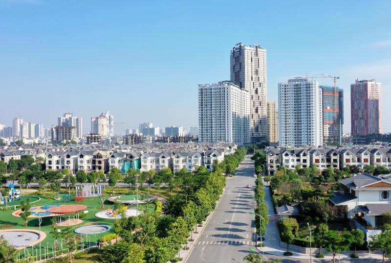 Một góc Khu đô thị Dương Nội.