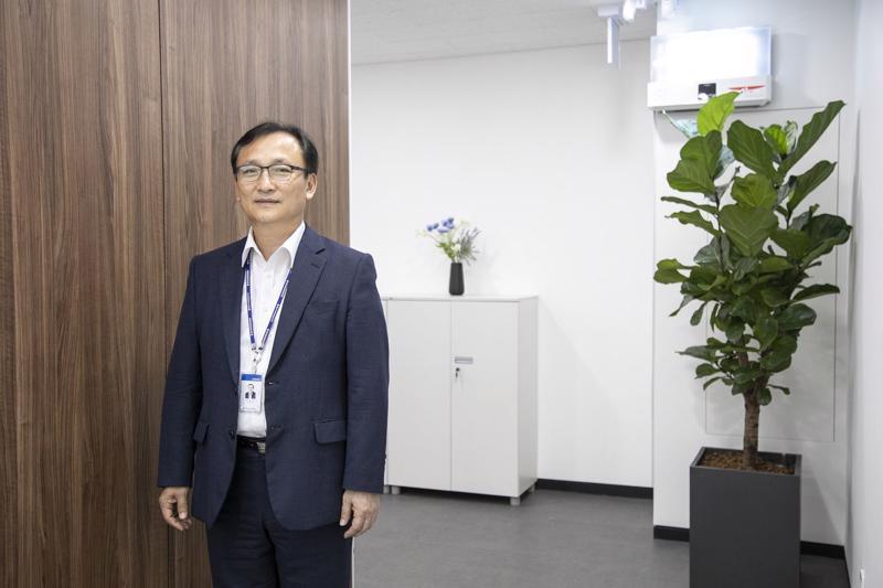 Phó Chủ tịch kiêm Tổng giám đốc (CEO) SD Biosensor, ông Lee Hyo-Keun - Ảnh: Bloomberg.