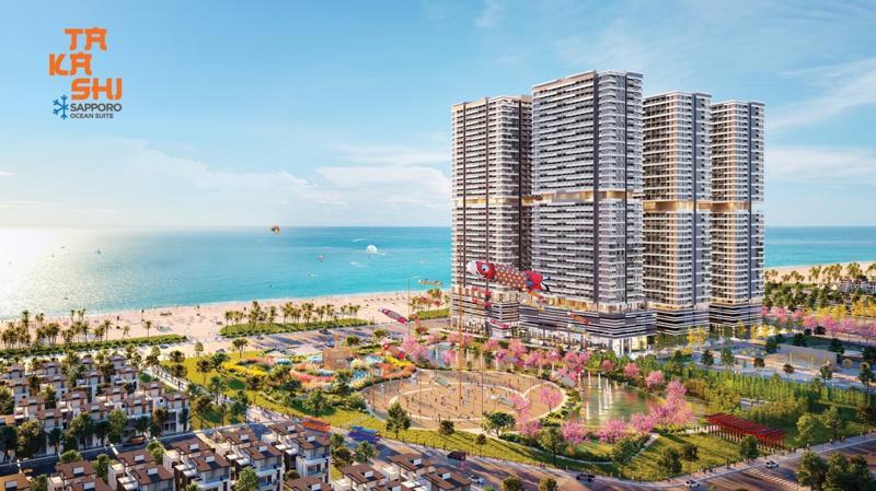 Khu đô thị biển Takashi Ocean Suite Kỳ Co. Một dự án do Tập đoàn Danh Khôi phát triển.
