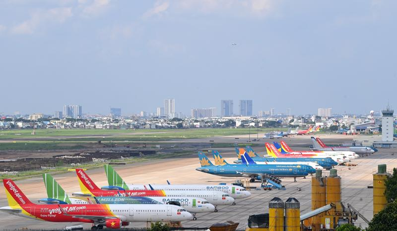 Tổng số máy bay dư thừa của các hãng là 58 tàu, chiếm 26% tổng số máy bay.