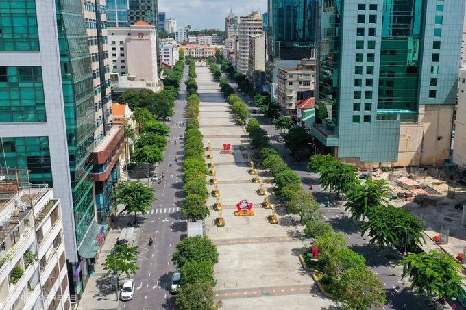 TP Hồ Chí Minh đang áp dụng Chỉ thị 16 của Chính phủ về các biện pháp phòng chống dịch - Ảnh sưu tầm