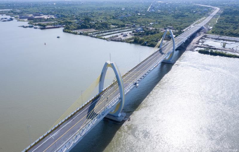 Cầu Quang Thanh được khánh thành ngày 17/7/2021
