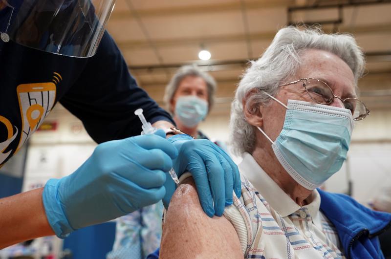 Tiêm chủng ngừa Covid-19 ở Mỹ.