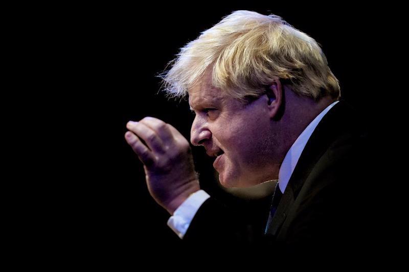 Thủ tướng Anh Boris Johnson - Ảnh: Bloomberg.
