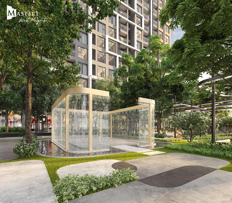Tọa lạc tại trung tâm Smart City, Masteri West Heights kiến tạo một không gian sống theo phong cách hiện đại duy mỹ, cùng những tiện nghi đẳng cấp.