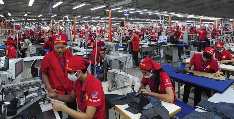 Hầu hết các doanh nghiệp thuộc Tập đoàn đã đủ đơn hàng đến hết tháng 9 và một phần đến tháng 12/2021.