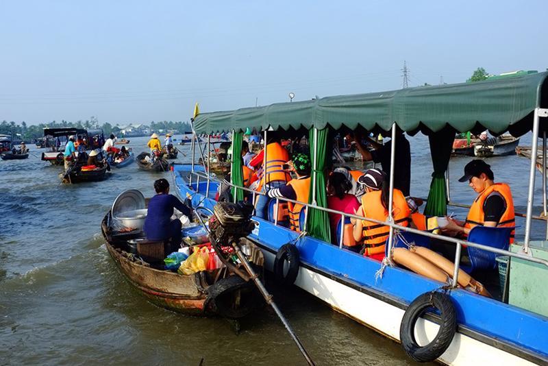 Do ảnh hưởng của đại dịch Covid-19, ngành du lịch các tỉnh đồng bằng sông Cửu Long cũng chịu tác động nặng nề