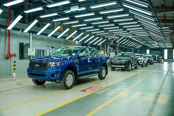 Tính đến tháng 6/2021, Ford Ranger đã cán mốc 100.000 xe được đưa tới tay khách hàng trên toàn quốc.