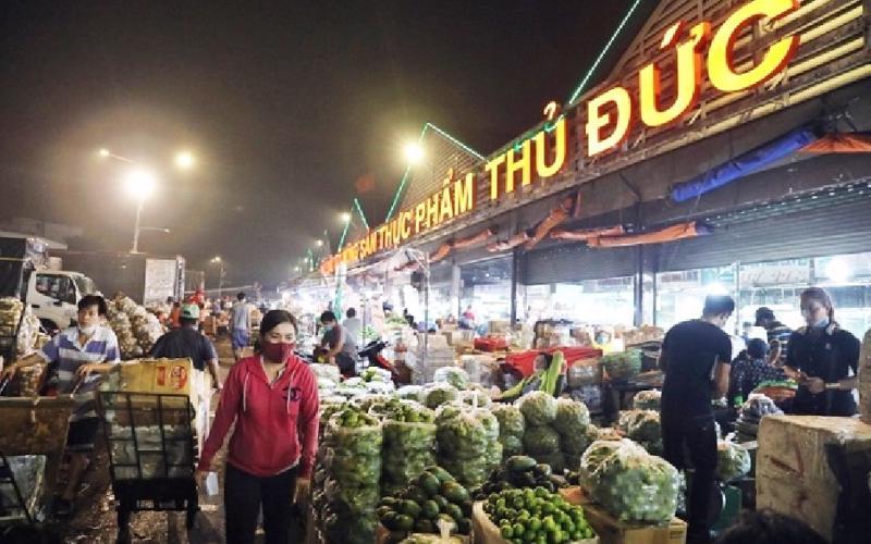 Sớm có cơ chế mở lại các chợ đầu mối Bình Điền, Thủ Đức và Hóc Môn.