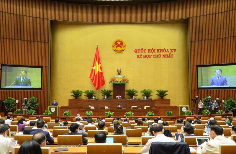 Toàn cảnh phiên họp chiều 21/7 - Ảnh: Quochoi.vn