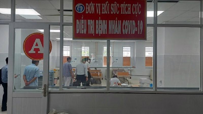 Đơn vị hồi sức tích cực (ICU) của BV Thống Nhất Đồng Nai.