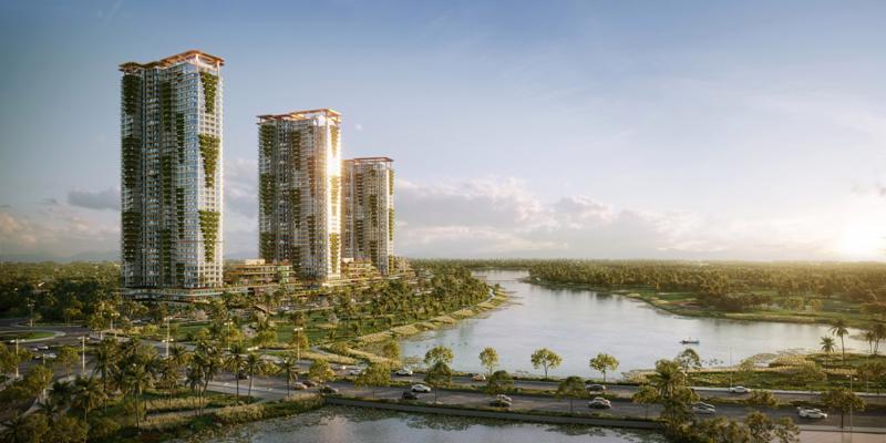 Các dự án nghỉ dưỡng ven đô đang dẫn dắt thị trường bất động sản Việt Nam.