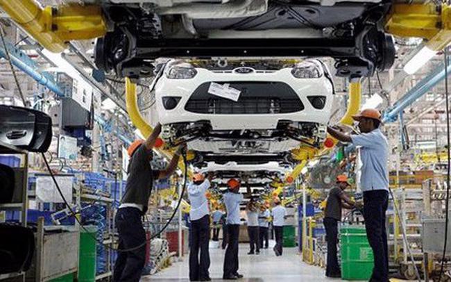 Năm 2020, số lượng xe sản xuất lắp ráp trong nước là 323.892 xe.