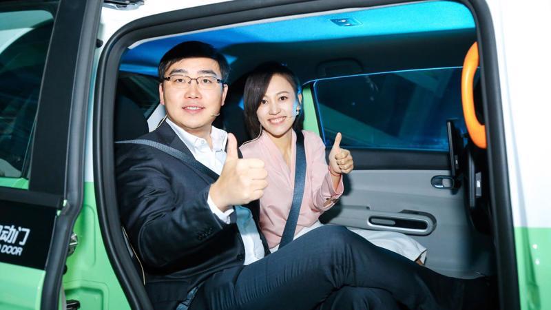 CEO Will Wei Cheng (trái) và Chủ tịch Jean Qing Liu của Didi - Ảnh: Forbes.