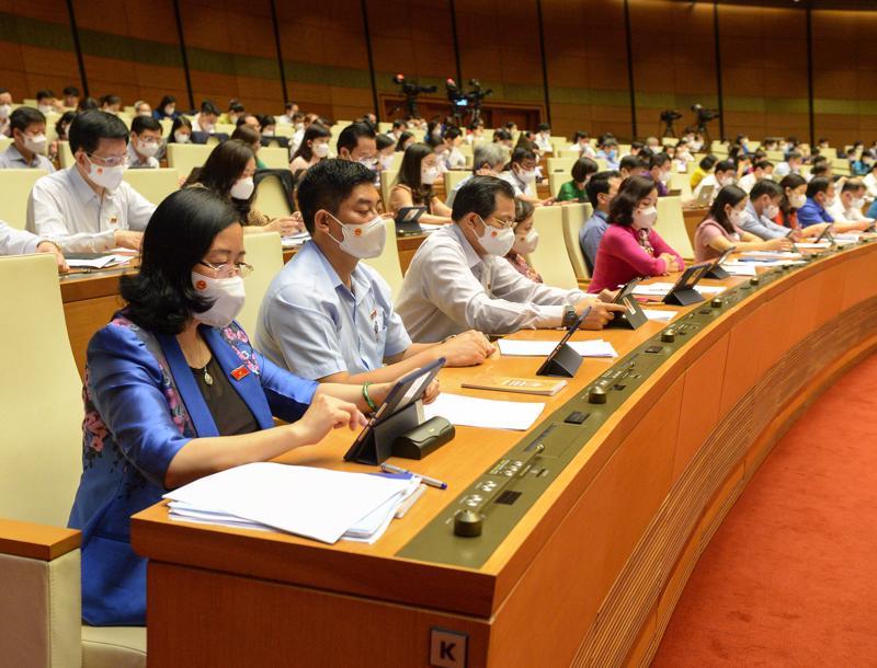 Kỳ họp thứ nhất của Quốc hội khóa XV sẽ rút ngắn 3 ngày làm việc so với dự kiến ban đầu - Ảnh: Quochoi.vn.
