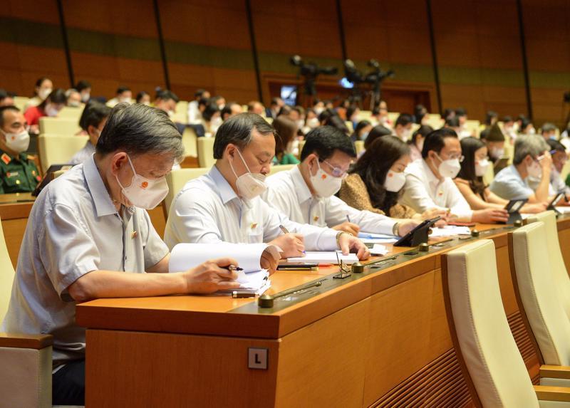 Nội dung về phòng, chống dịch Covid-19 sẽ được đưa vào Nghị quyết chung của kỳ họp thứ nhất, Quốc hội khóa XV - Ảnh: Quochoi.vn
