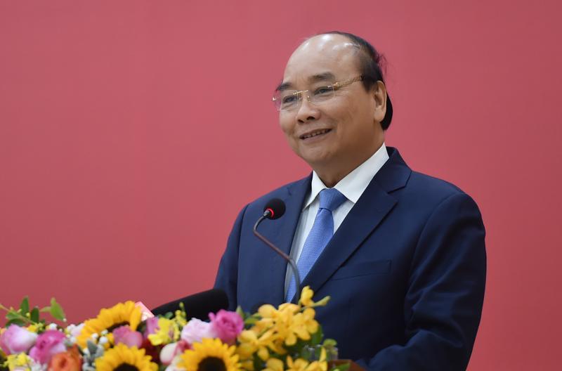 Ông Nguyễn Xuân Phúc được đề cử để Quốc hội bầu làm Chủ tịch nước nhiệm kỳ 2021-2026 - Ảnh: VGP