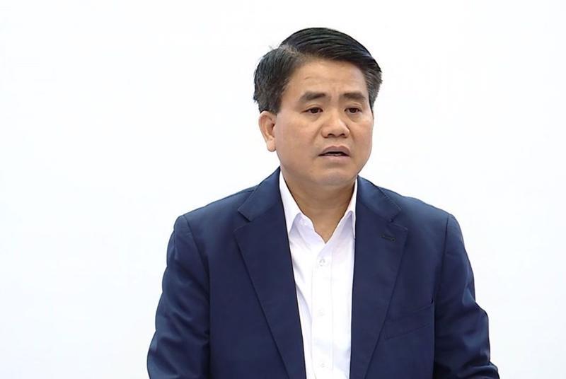 Ông Nguyễn Đức Chung, nguyên Chủ tịch UBND thành phố Hà Nội - Ảnh: VGP.