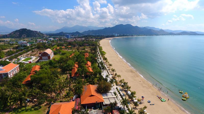 Biển Ninh Chữ, tỉnh Ninh Thuận.