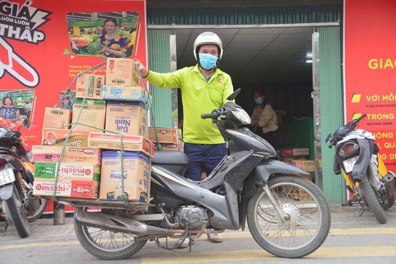 Sở Công Thương tổng hợp danh sách nhân viên giao hàng bằng xe mô tô hai bánh cho các siêu thị trên địa bàn Thành phố