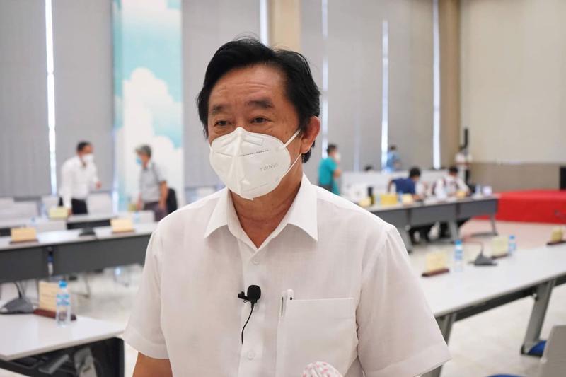 Ông Nguyễn Hoàng Thao, Phó Bí thư Thường trực Tỉnh ủy Bình Dương. Ảnh - Bộ Y tế.