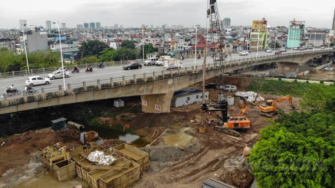 Dự án cầu Vĩnh Tuy 2 vượt sông Hồng trị giá hơn 2.500 tỷ, là 1 trong 6 công trình được đề nghị cho phép thi công trong thời gian giãn cách.
