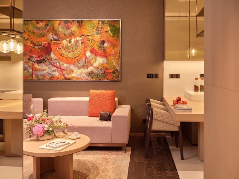 Phối cảnh căn hộ mẫu thuộc bộ sưu tập Prime (thương hiệu Marriott) của Grand Marina. Ảnh: Masterise Homes.