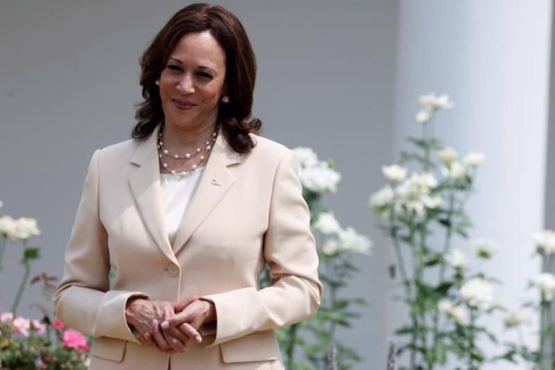 Phó Tổng thống Mỹ Kamala Harris - Ảnh: Reuters
