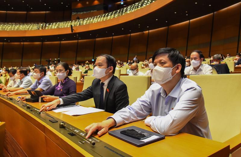 Quốc hội thông qua một loạt Nghị quyết trong ngày làm việc cuối cùng của Kỳ họp thứ nhất, Quốc hội khóa XV - Ảnh: Quochoi.vn